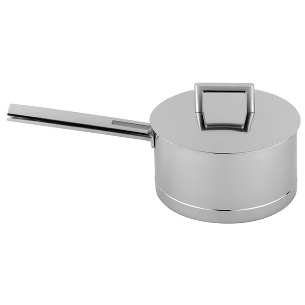 John Pawson Stainless Steel Saucepan by Demeyere
