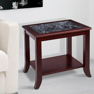 Sturgill Marble Top End Table