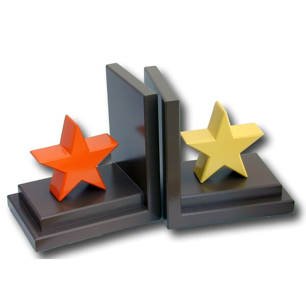 Stars Book Ends (Set of 2) by One World