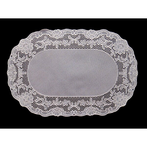 Vinyl Lace Placemat (Set of 4) by Violet Linen