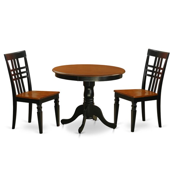 Jordy 3 Piece Dining Set by August Grove