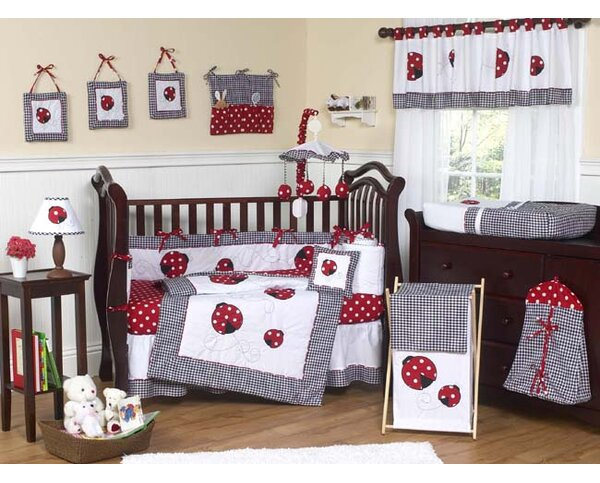 Little Ladybug 9 Piece Crib Bedding Set by Sweet Jojo Designs