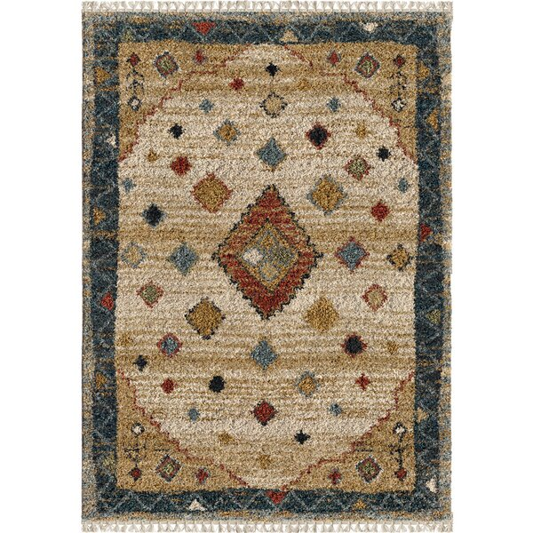 Danton Nomadic Ivory Area Rug by Foundry Select