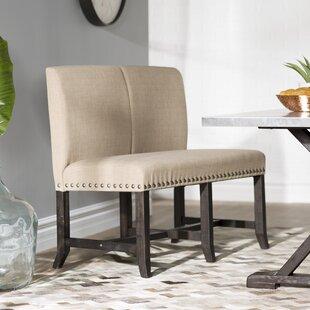 Reviews Gaudette Upholstered Settee ByGracie Oaks