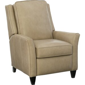 Barnes Leather Recliner by Bradington-Young