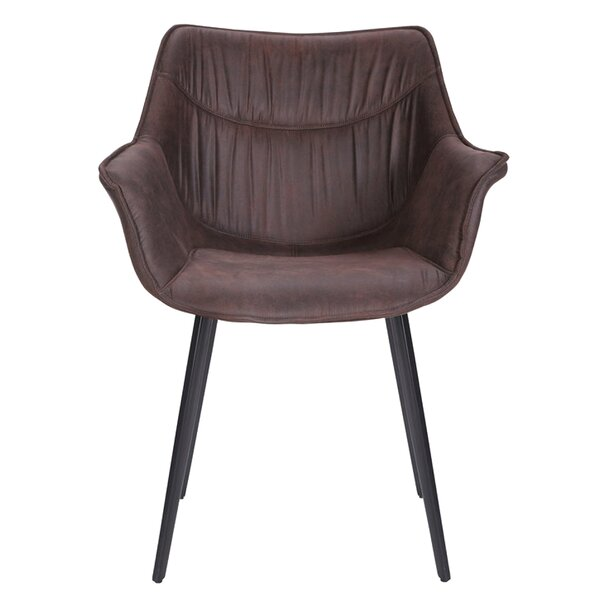 Coventry Retro Upholstered Dining Chair by Foundry Select