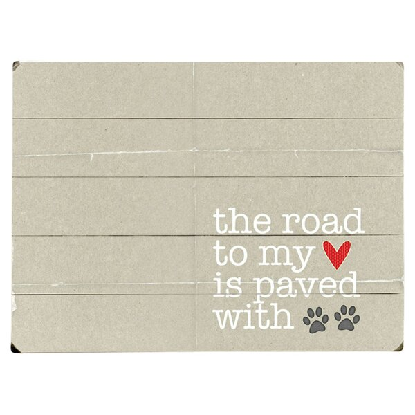 Road To My Heart Graphic Art Print Multi-Piece Image on Wood by Artehouse LLC
