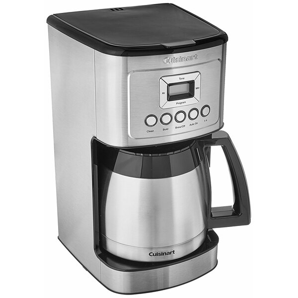 12-Cup Programmable Thermal Coffeemaker by Cuisina