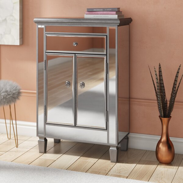 Chauncey Contemporary 1 Drawer Cabinet