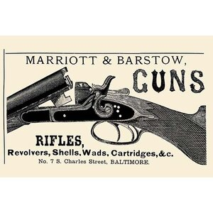 'Marriott & Barstow Guns' Graphic  Art by Buyenlarge