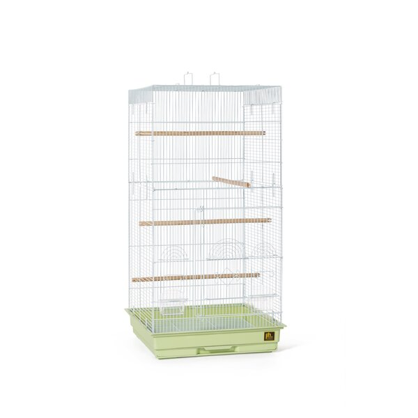 Tiel Bird Cage with Handle by Prevue Hendryx