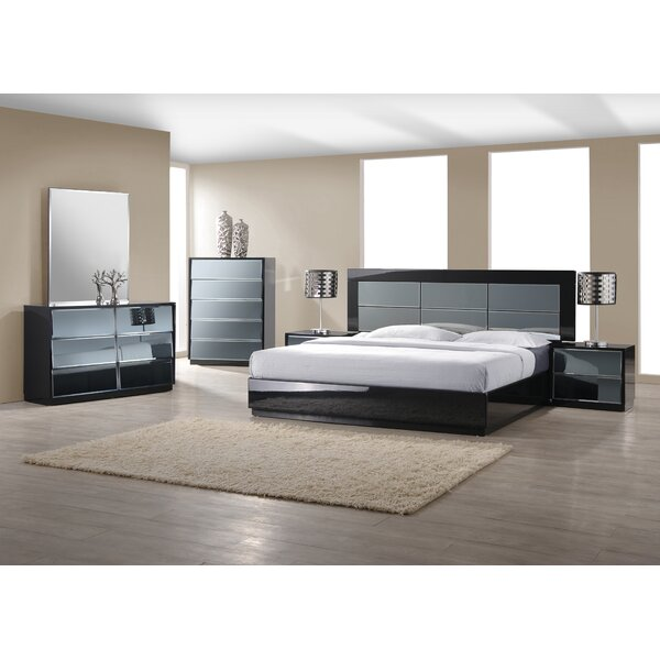 Ashish Contemporary Platform Configurable Bedroom Set by Orren Ellis