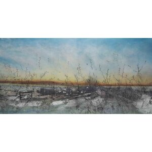 '42386' by Tracy Silva Barbosa Painting Print on Wrapped Canvas by Marmont Hill