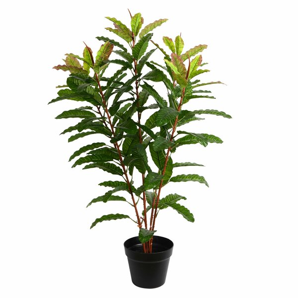 Artificial Real Myrtle Touch Floor Foliage Tree in Pot by Bay Isle Home