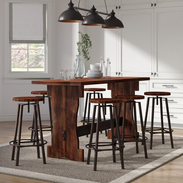 Connery 7 Piece Counter Height Pub Table Set by Laurel Foundry Modern Farmhouse