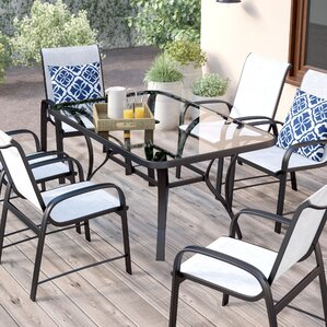 Nora 7 Piece Patio Dining Set