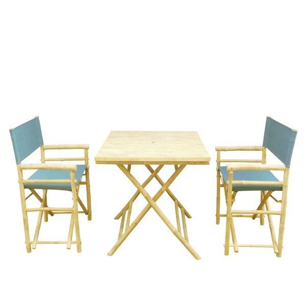 3 Piece Dining Set by ZEW Inc