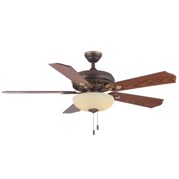 52 Philipston 5-Blade Ceiling Fan by Charlton Home