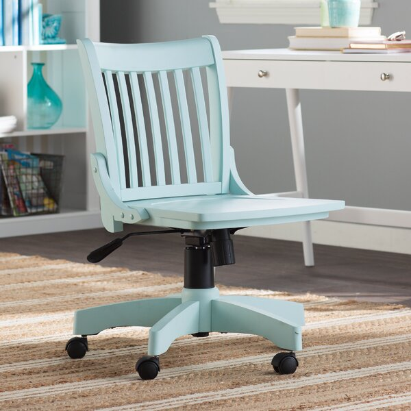 Gravely Armless Bankers Chair by Beachcrest Home