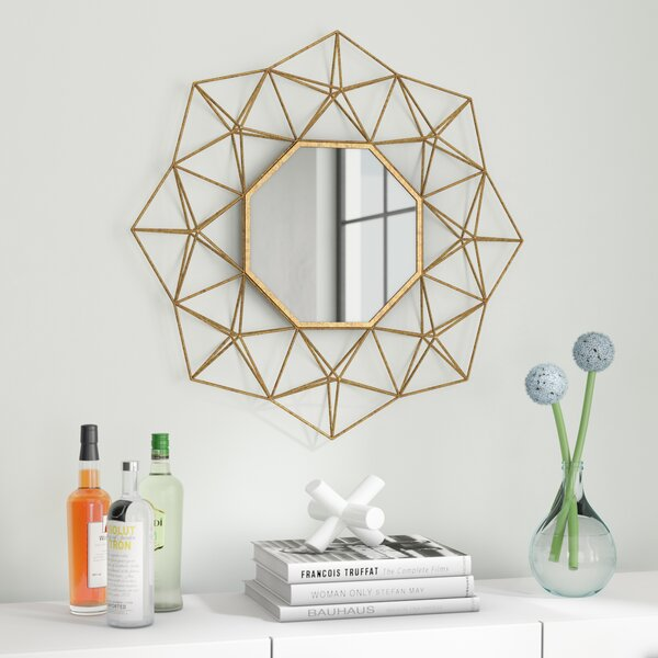 Combs Wire Accent Mirror by Mercury Row