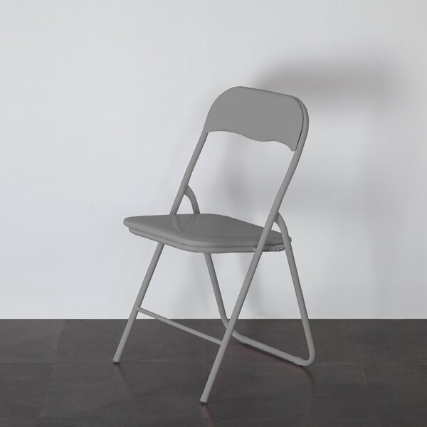 Plastic/Resin Padded Folding Chair by Urban Shop