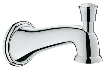 Parkfield Wall Mount Tub Spout with Diverter by Grohe