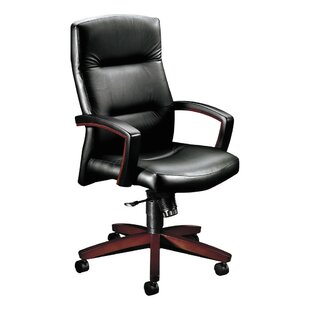 Park Avenue Series High-Back Leather Executive Chair