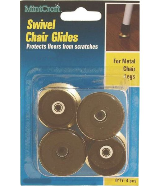Swivel Chair Glide (Set of 4) by Mintcraft