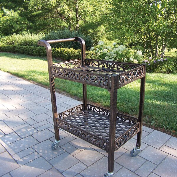 Mcgrady Serving Cart by Astoria Grand