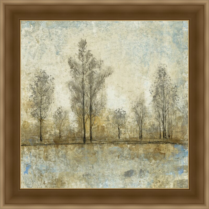 Quiet Nature Iv Framed Painting Print