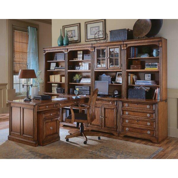 Brookhaven L-Shape Desk Office Suite by Hooker Furniture