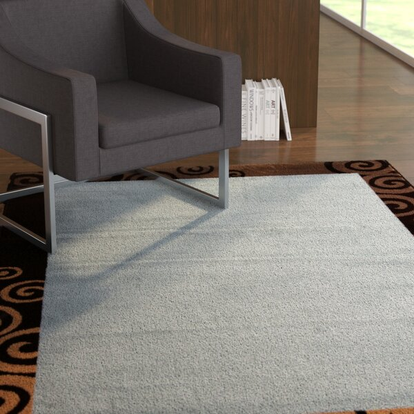 Flims Blue Area Rug by Ebern Designs
