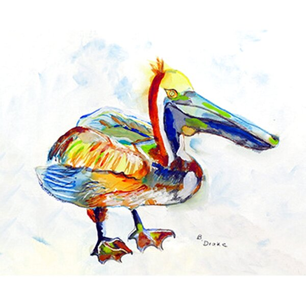 Tompkins Pelican Placemat (Set of 4) by Bay Isle Home