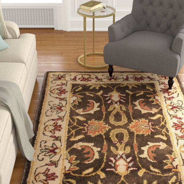 Cranmore Brown/Beige Area Rug by Charlton Home