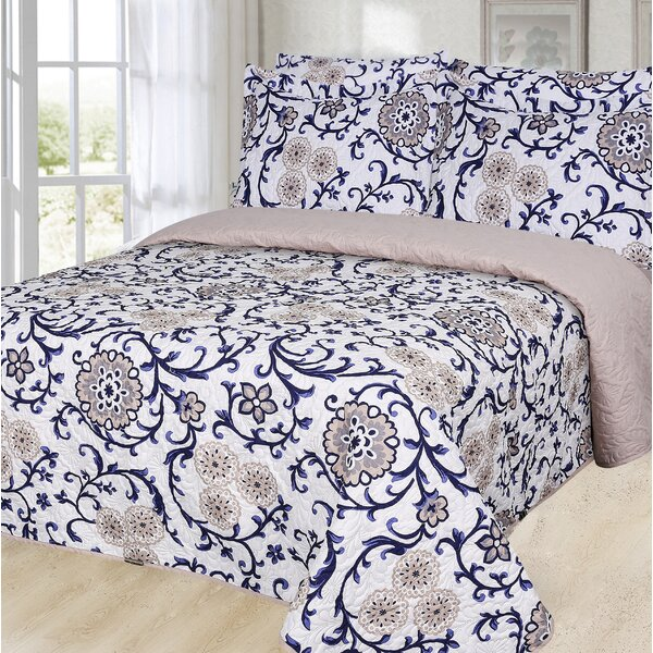 Friedensburg Pinsonic Reversible Quilt Set by Charlton Home