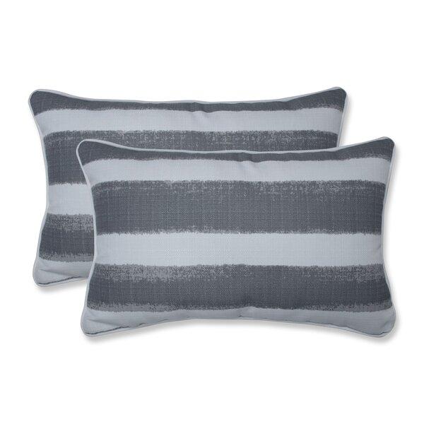Haylee Indoor/Outdoor Lumbar Pillow (Set of 2)