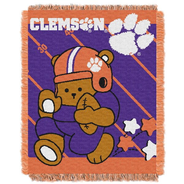 Collegiate Clemson Baby Throw by Northwest Co.