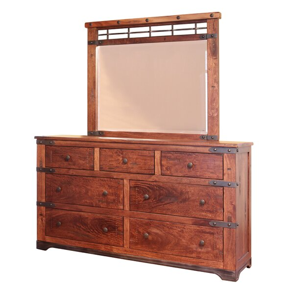 Armino 7 Drawer Standard Dresser by Union Rustic