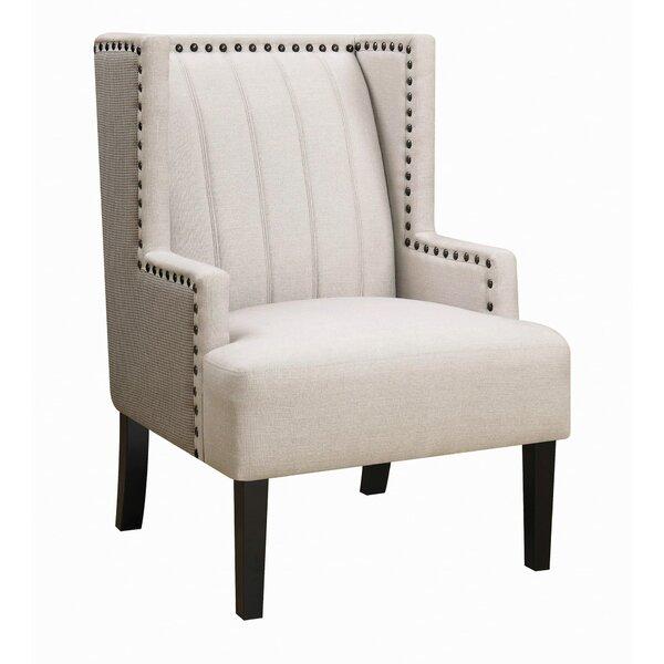 Robert Wingback Chair by One Allium Way One Allium Way