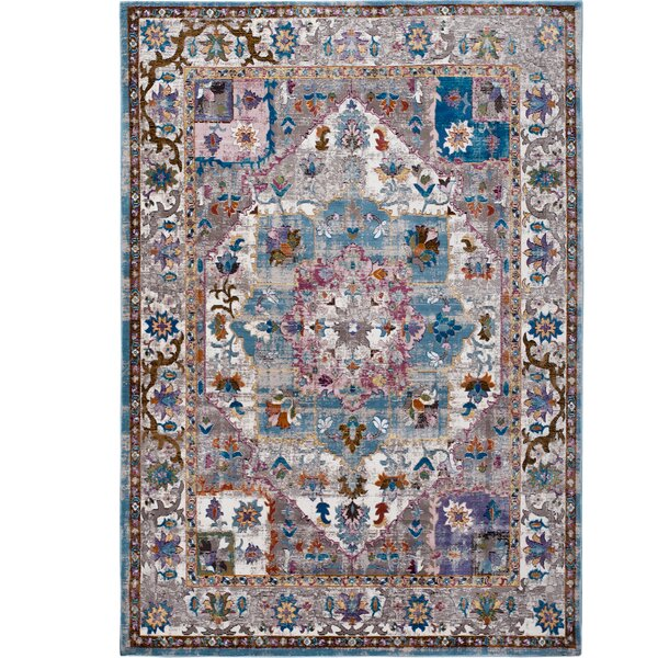 Parlin Bordered  Area Rug by Nicole Miller