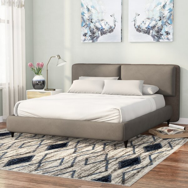 Goodview Upholstered Platform Bed by Brayden Studio
