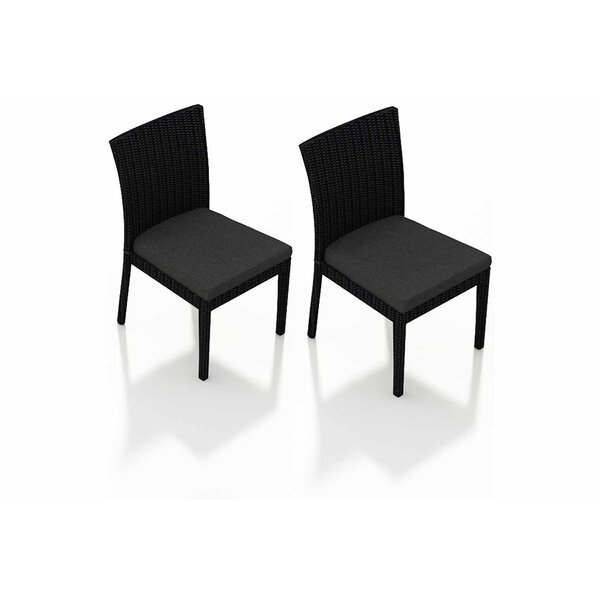 Urbana Patio Dining Chair with Cushion (Set of 2) by Harmonia Living