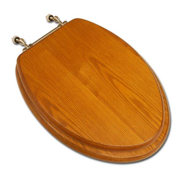 family toilet seat wood. Decorative Wood Elongated Toilet Seat Seats You ll Love  Wayfair