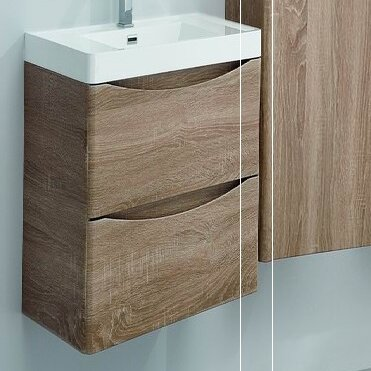 Blondene Modern 24 Single-Hole Bathroom Vanity Set by Trent Austin Design
