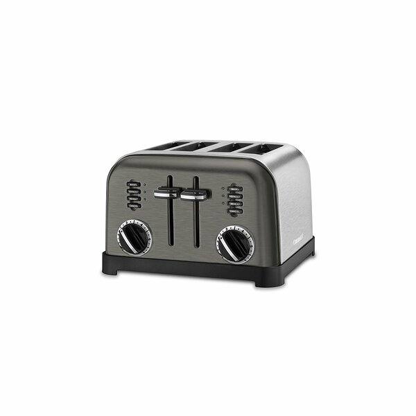 4 Slice Metal Classic Toaster by Cuisinart