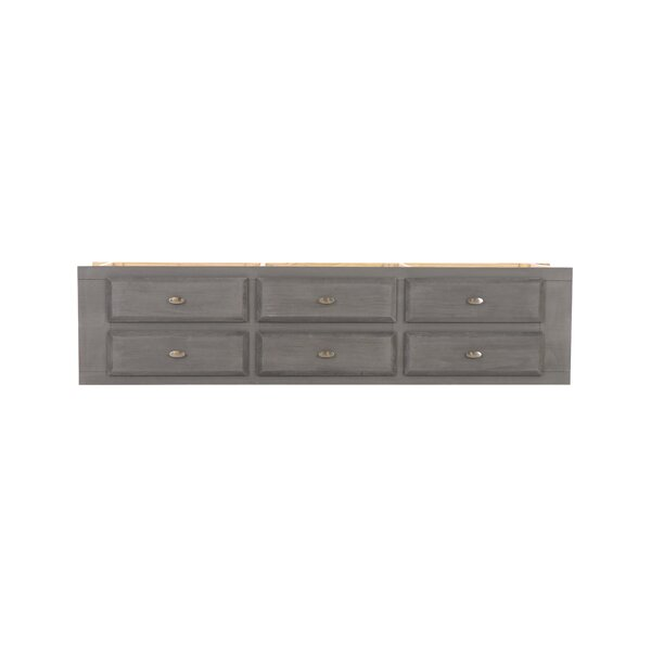 Elisabetta 6 Drawer Bed Storage Unit by Birch Lane™ Heritage