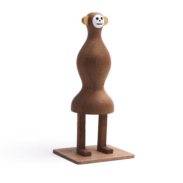 Funny Farm She Monkey Handmade Wood Figurine by LZF