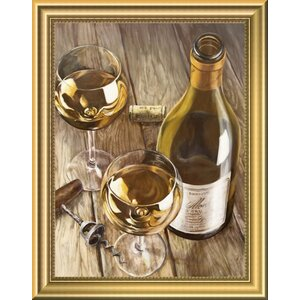 'Noblesse Francaise' Framed Oil Painting Print by East Urban Home
