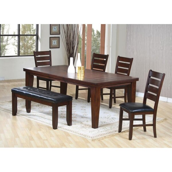 Rensselear 6 Piece Drop Leaf Dining Set by Winston Porter
