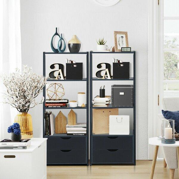 Ebern Designs Black Bookcases